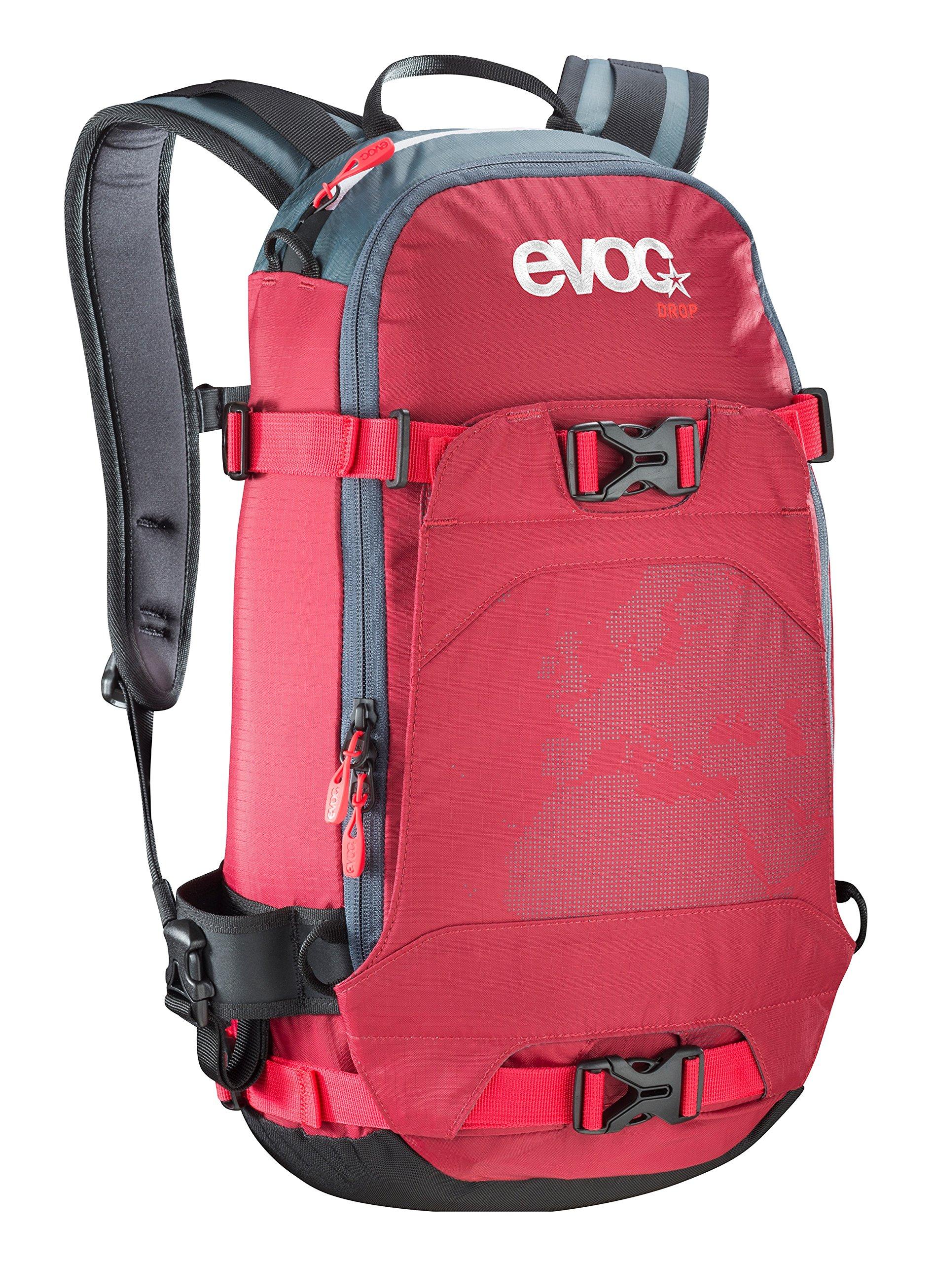 Evoc Drop 12 Litre Snow Ski Back Pack Ruck Sack 6212-132 Ruby
