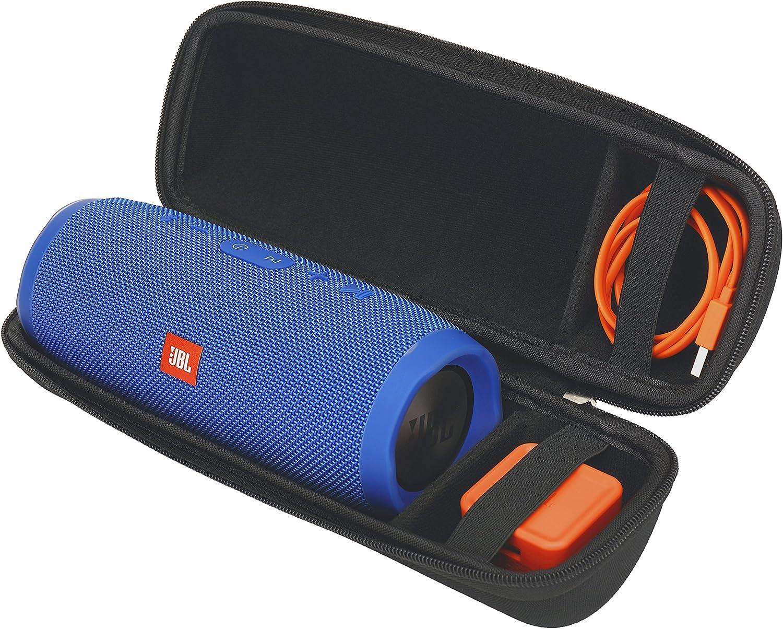 Black-Long Aproca Hard Travel Storage Case for JBL Charge 3 JBLCHARGE3BLKAM Waterproof Portable Bluetooth Speaker