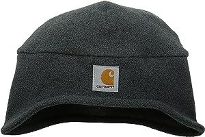 Carhartt Men's Fleece 2-In-1 Headwear,Charcoal Heather,One Size