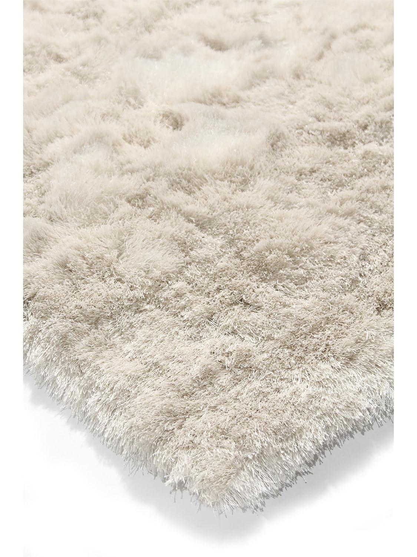 Wollteppich beige  benuta Shaggy Hochflor Teppich Whisper Beige 80x150 cm | Langflor ...