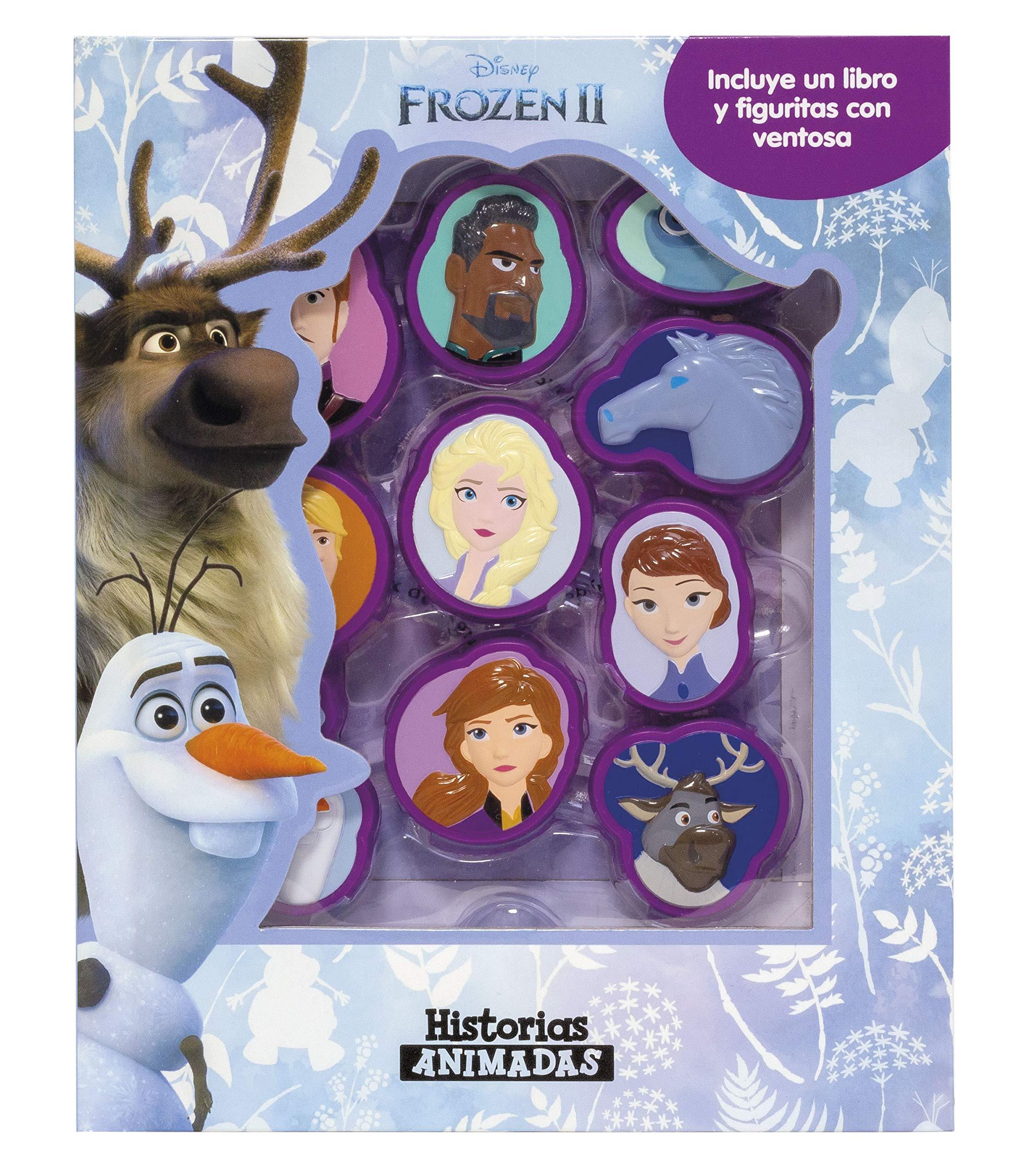 Frozen 2. Historias animadas: Incluye un libro y figuritas con ventosa: Amazon.es: Disney, Editorial Planeta S. A.: Libros