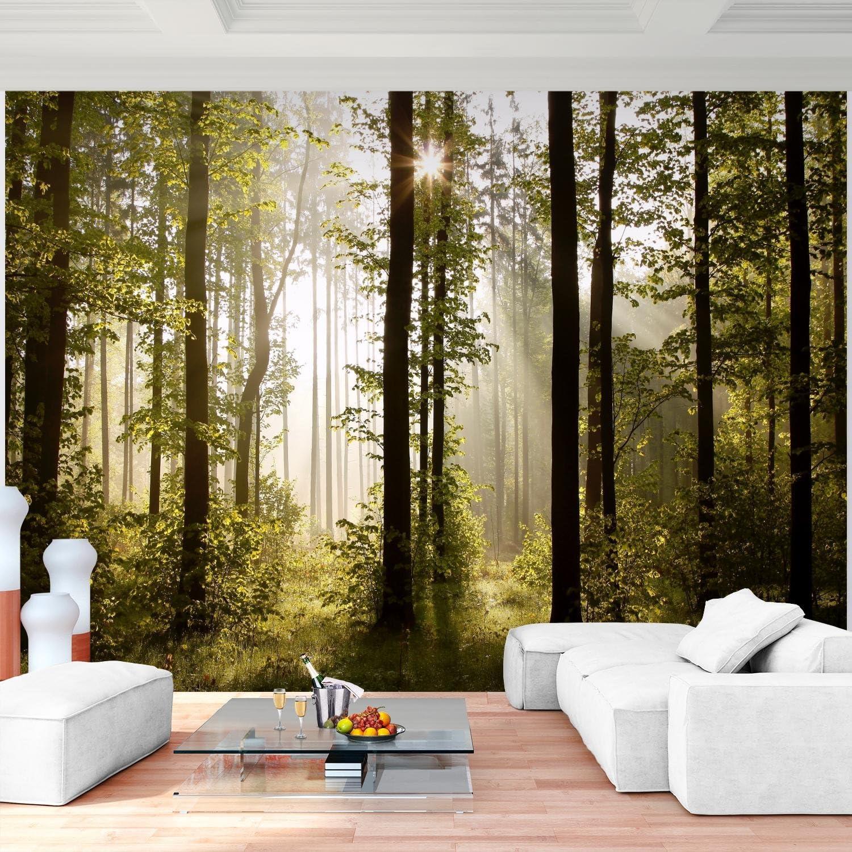 3D Wald Natur Landschaft Wandtapete Schlafzimmer Wohnzimmer Passend Für Heim