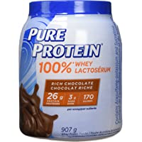 Pure Protein Powder, Whey, Great for Shakes, Vanilla Cream, 907g