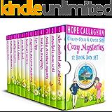 Cozy Mysteries 12 Book Box Set: Garden Girls & Cruise Ship Cozy Mystery Series (English Edition)