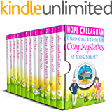 Cozy Mysteries 12 Book Box Set: Garden Girls & Cruise Ship Cozy Mystery Series