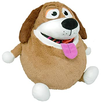 Tummy Stuffers Tan Dog Plush Toy