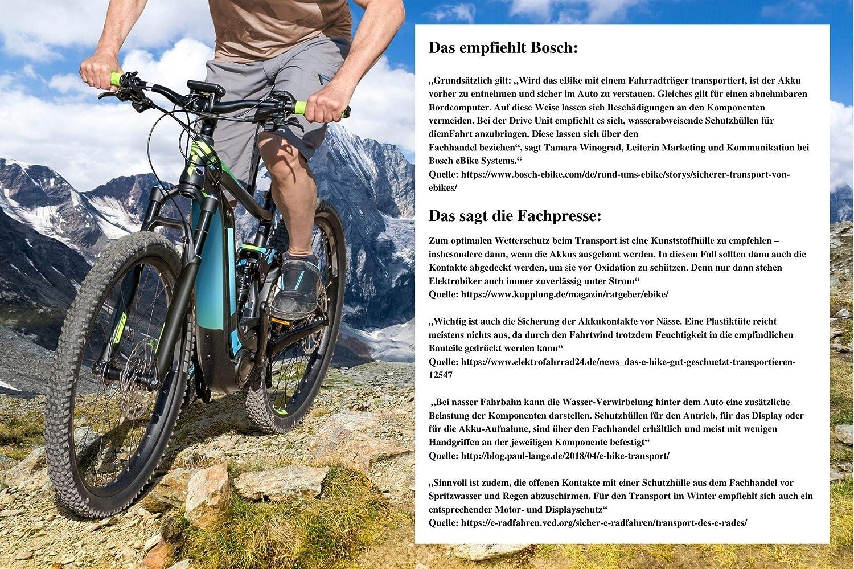 Bedico Bosch Pin Abdeckung E Bike Schutzabdeckung Für Bosch Rahmen Akku Aufnahme Der Serieactive Performance Line Und Cx Ab 2014 Sport Freizeit