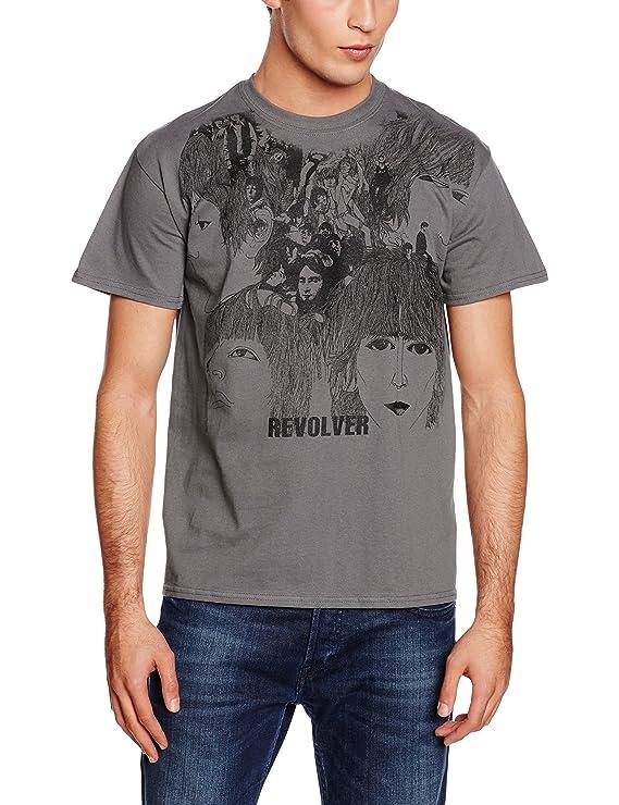 Amazon.com: Rockoff Trade Mens Revolver T-shirt, Grey, X-large: Clothing