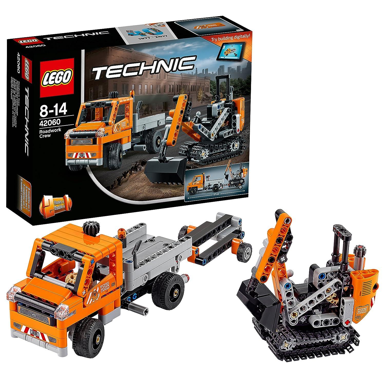 LEGO Technic - L'équipe de réparation routière - 42060 - Jeu de Construction