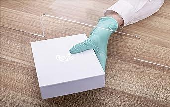 Protección antiespasmos de plexiglás, protección contra virus de plexiglás, paredes, cajas, barreras, cristales., 40x60x30 cm, 1: Amazon.es: Industria, empresas y ciencia