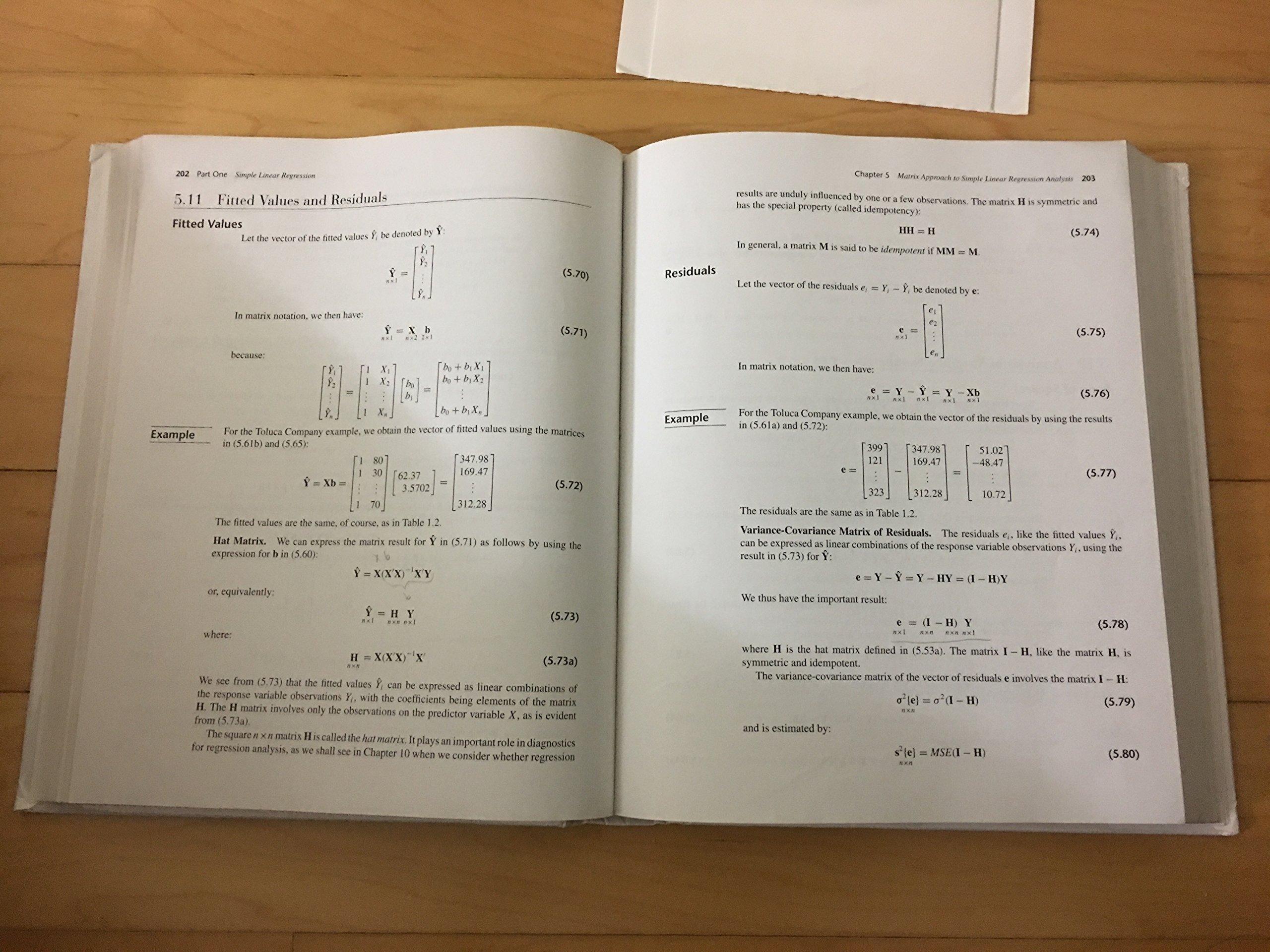 Applied Linear Regression Models: Michael H. Kutner, Christopher J.  Nachtsheim, John Neter: 9780073013442: Books - Amazon.ca