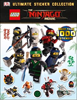 The LEGO NINJAGO Movie Coloring Book For Kids Activity