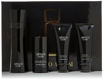 Amazoncom Giorgio Armani Armani Code For Men 4 Piece Gift Set