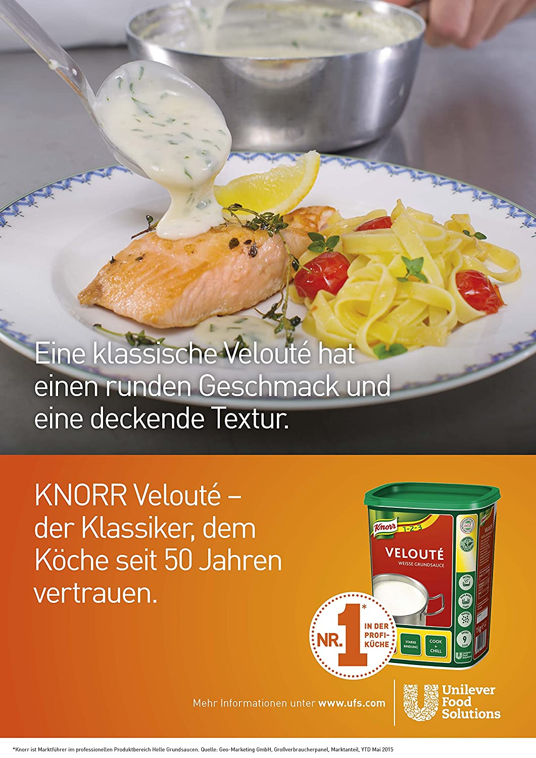 Amazon.com : Knorr Velouté White Base Sauce 1 kg : Grocery & Gourmet ...