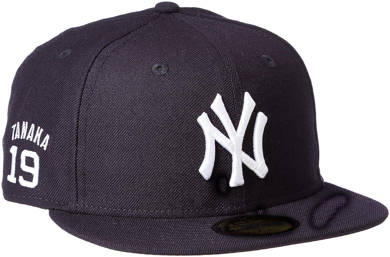 (ニューエラ)NEW ERA ベースボールキャップ 59FIFTY MLB Japanese Player ニューヨーク・ヤンキース (田中 将大) 11497892 [ユニセックス] 11497892  チームカラー 7.1/2