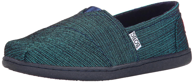 Skechers BOBS from Women's Bliss Fashion Slip-On Flat B00PRA94Y6 7.5 B(M) US Dark Navy/Silver