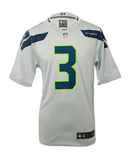 Amazon.com   Nike NFL Men s Russell Wilson Seattle Seahawks Jersey ... e19d563c1