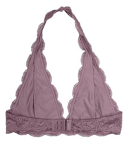 0b65d0607e83d Wonder St Women s Lace Halter Bralette at Amazon Women s Clothing store
