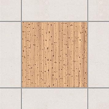 Apalis Fliesen Aufkleber – Antik Weiß Holz 15 cm x 15 cm, Setgröße ...