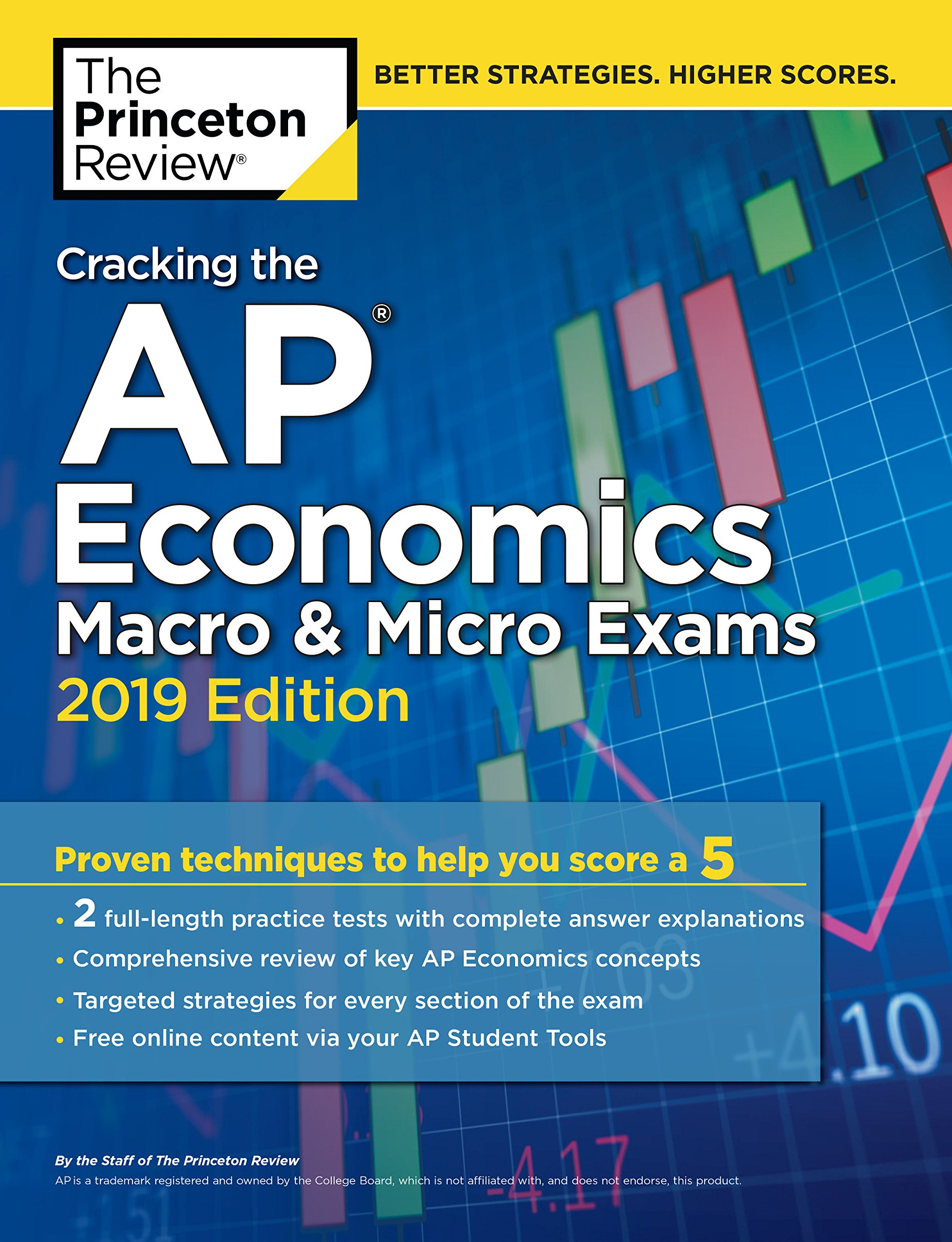 Cracking the AP Economics Macro & Micro Exams, 2019 Edition: Practice Tests & Proven Techniques to Help You Score a 5 (College Test Preparation) by Princeton Review (Image #1)