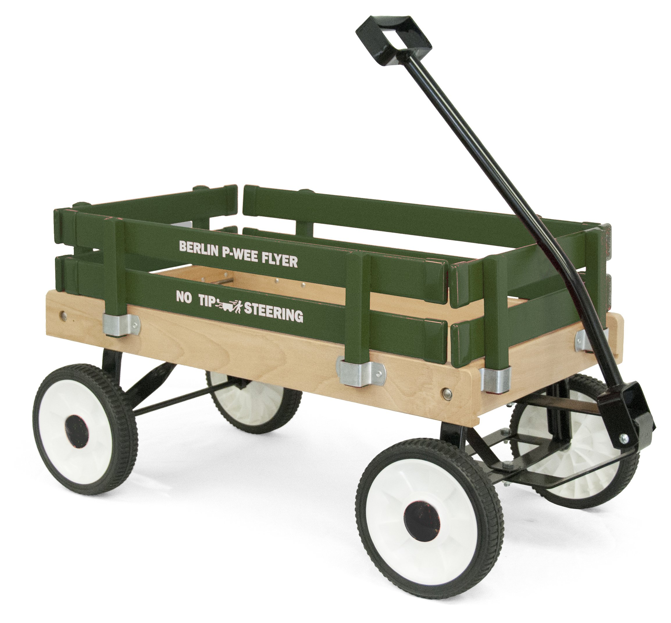 Berlin F257G Amish-Made Pee-Wee Flyer Wagon, Green by Berlin