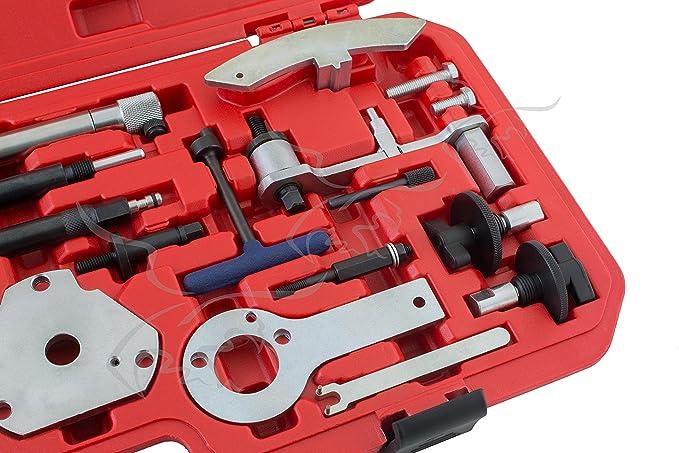 JUEGO DE CALADO PARA REGLAJE DE DISTRIBUCIONES FIAT: Amazon.es: Bricolaje y herramientas