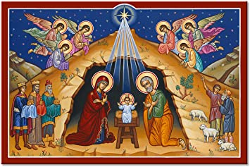 Image result for nativity icons