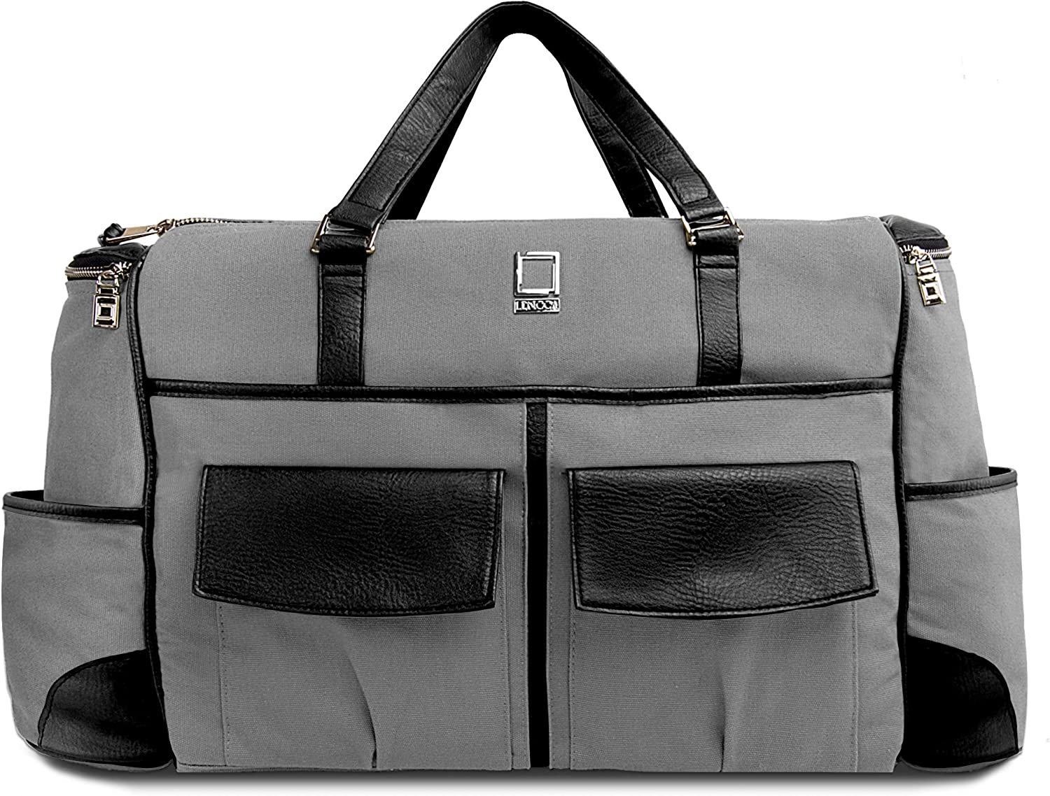 "Alpaque Duffel Bag for up to 15.6"" Laptop- MacBook, Inspiron, Aspire, Satellite, ROG, Flip, ThinkPad, Envy, ATIV Book, &Other"