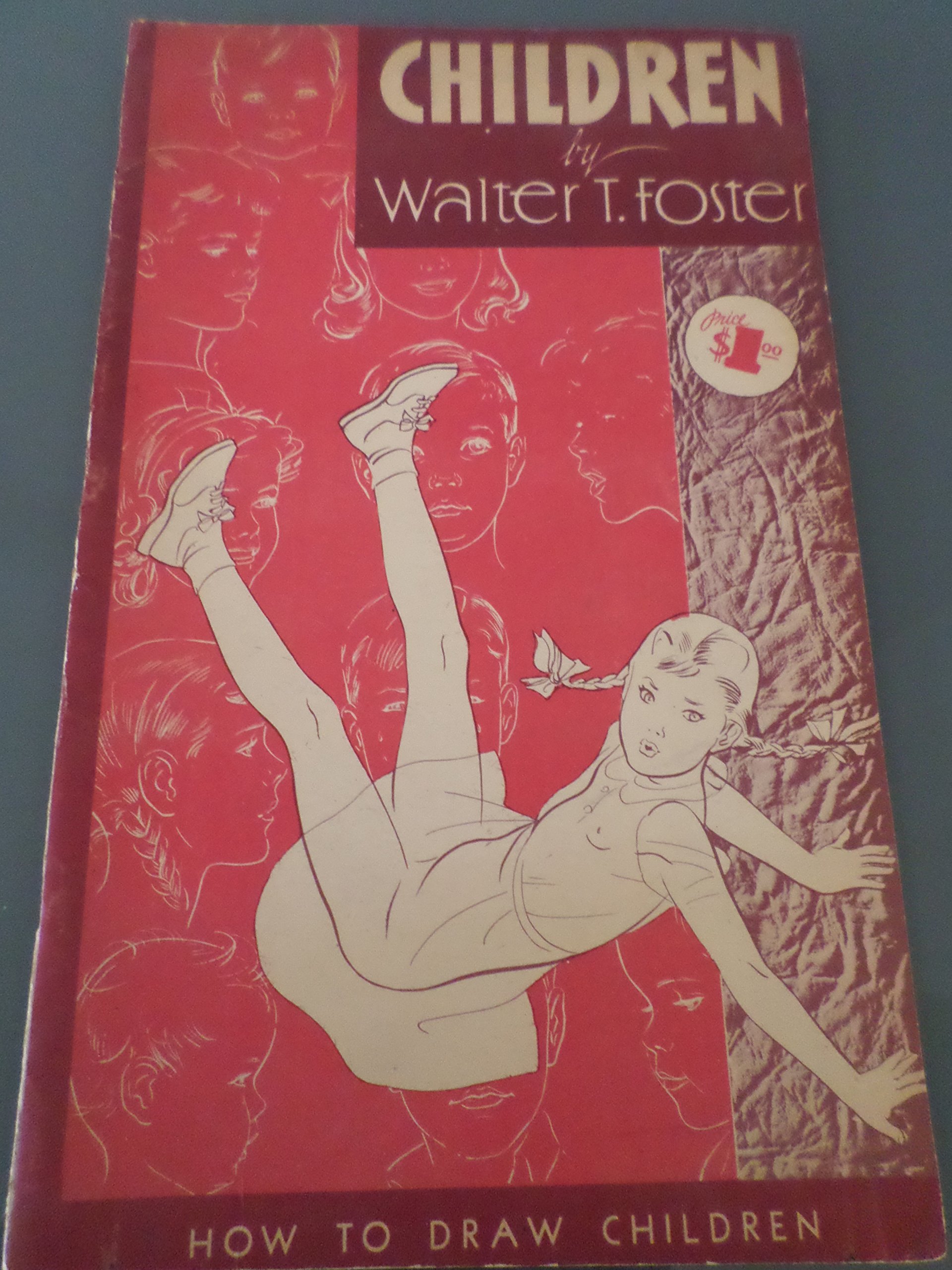 HOW TO DRAW CHILDREN (WALTER T  FOSTER