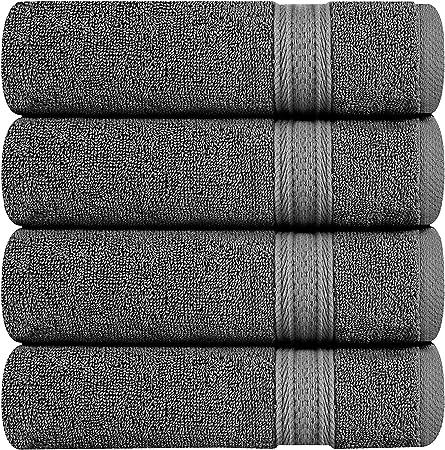 Asciugamano viso Anorak Pandas colore: nero grigio e bianco Asciugamano da bagno in 100/% cotone biologico