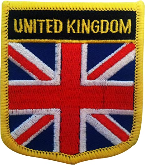 Amazon Com Great Britain Uk Flag Patch United Kingdom Emblem