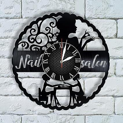 Amazon Com Olha Art Design Nail Salon Decor Nail Salon Wall