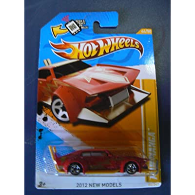 Hot Wheels 2012 New Models 44/50 Mad Manga Red: Toys & Games