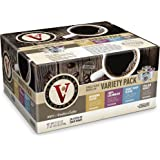 Victor Allen's 80 Count Single Serve Cup Variety Pack of Morning Blend, 100% Colombian, Donut Shop and Italian Roast (Compatible with 2.0 Keurig Brewers)