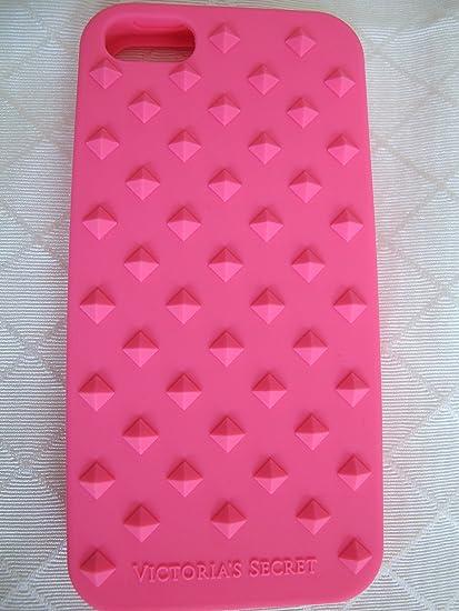Amazon.com: Victoria's Secret Hot Pink Stud Soft Case Iphone 5/5S ...