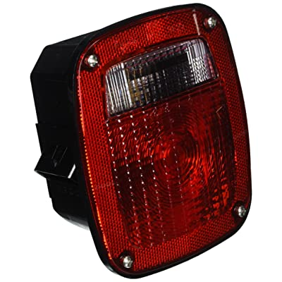 Grote 53650 SuperNova Three-Stud Metri-Pack LED Stop Tail Turn Light with Double Connector (w/ License Lamp): Automotive