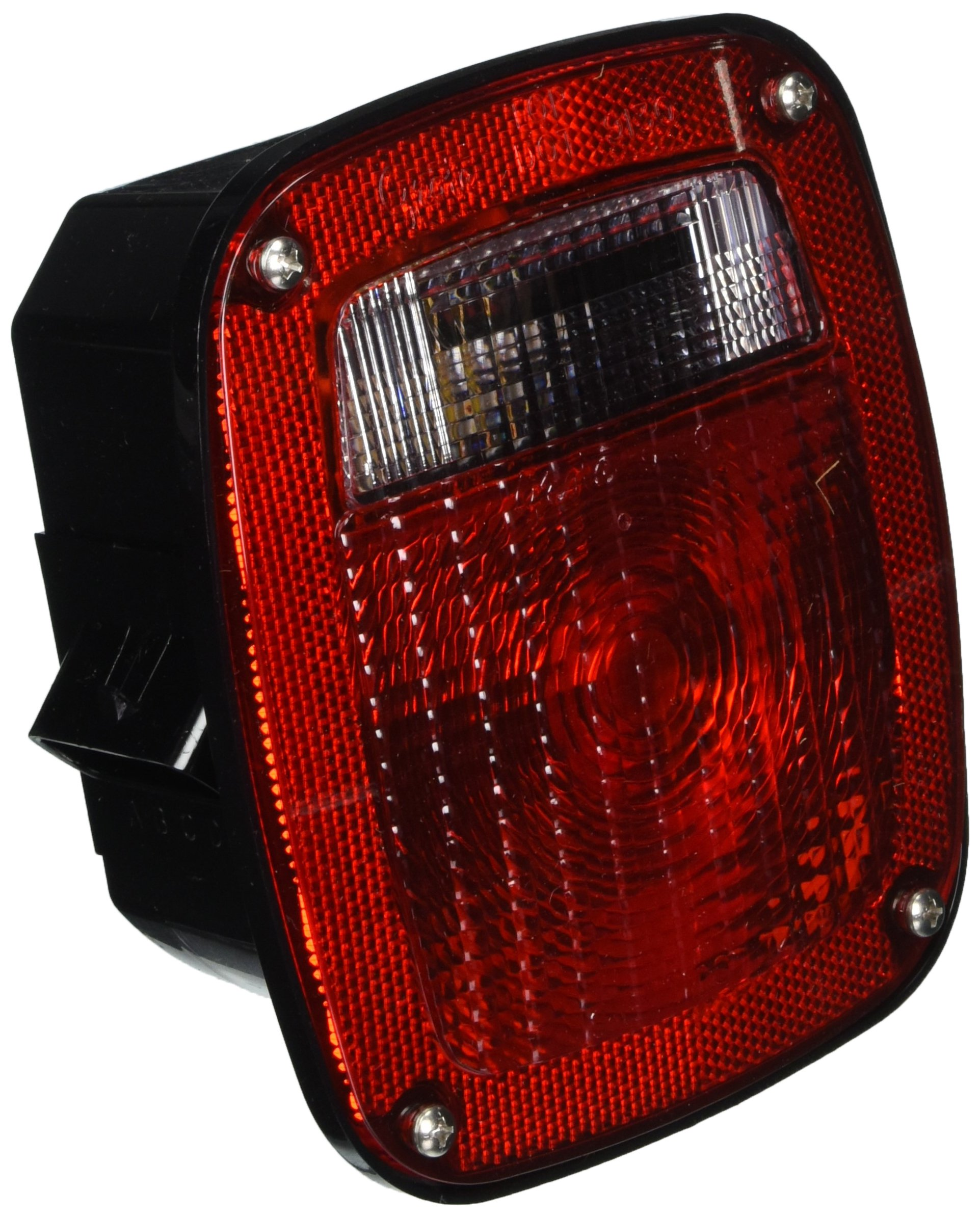 Grote 53650 SuperNova Three-Stud Metri-Pack LED Stop Tail Turn Light with Double Connector (w/ License Lamp) by Grote