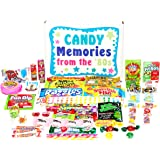 Woodstock Candy Gift Box - Retro Nostalgic Candy Gift Assortment from 1980s for Man or Woman - Relive Your Youth
