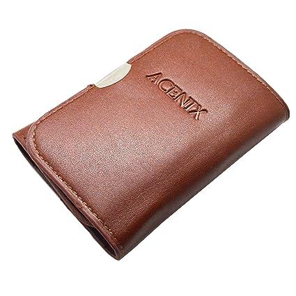 ACENIX® Nuevo marrón de piel tipo cartera Set de destornilladores de ...