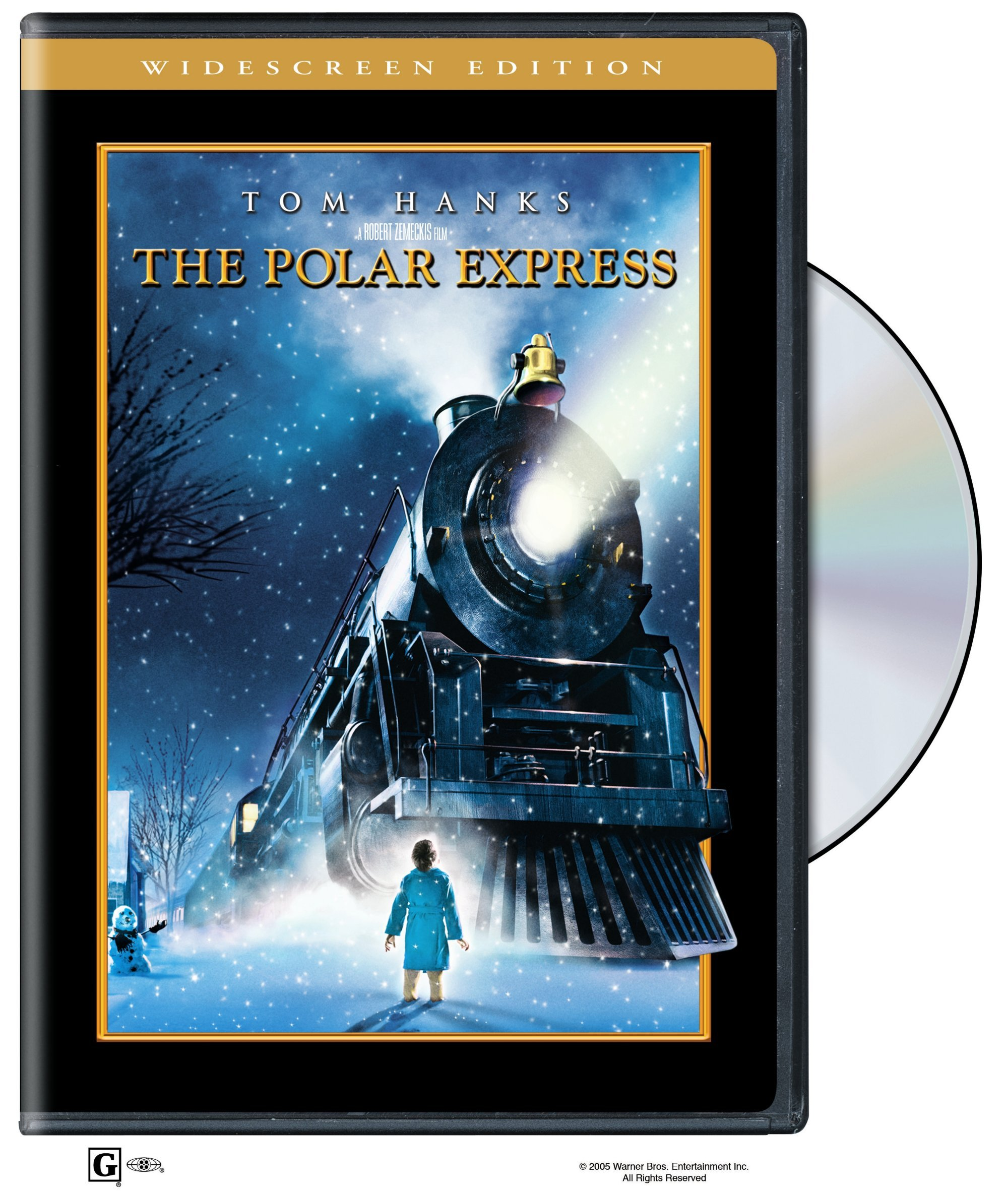 DVD : The Polar Express (AC-3, Widescreen, , Dubbed, Dolby)