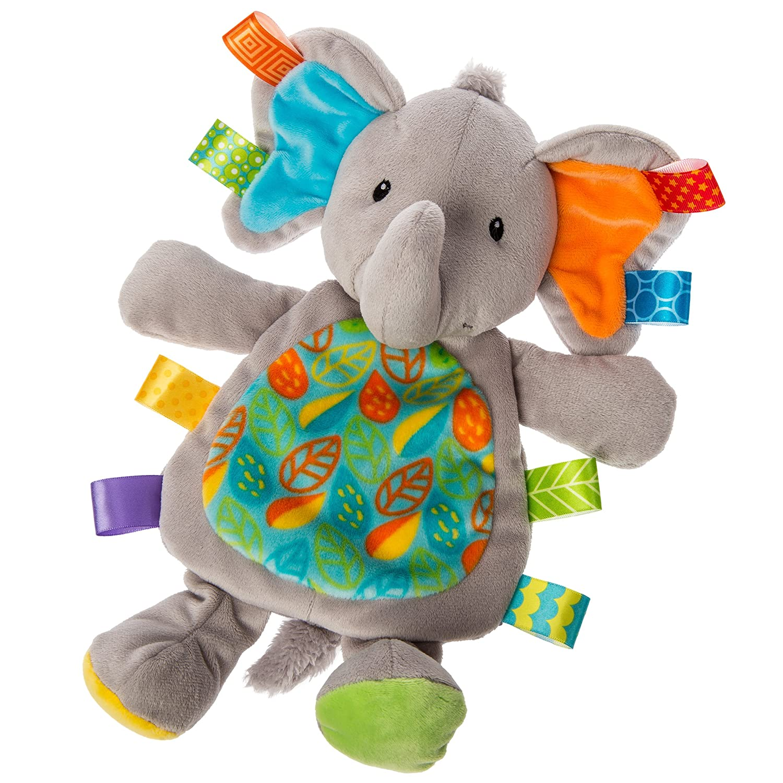Taggies Little Leaf Elephant Lovey Soft Toy Mary Meyer 40181