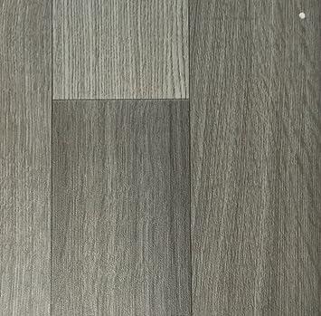 PVC Vinyl Bodenbelag In Der Optik Grau Anthrazit Holz Planke | PVC Belag  Verfügbar