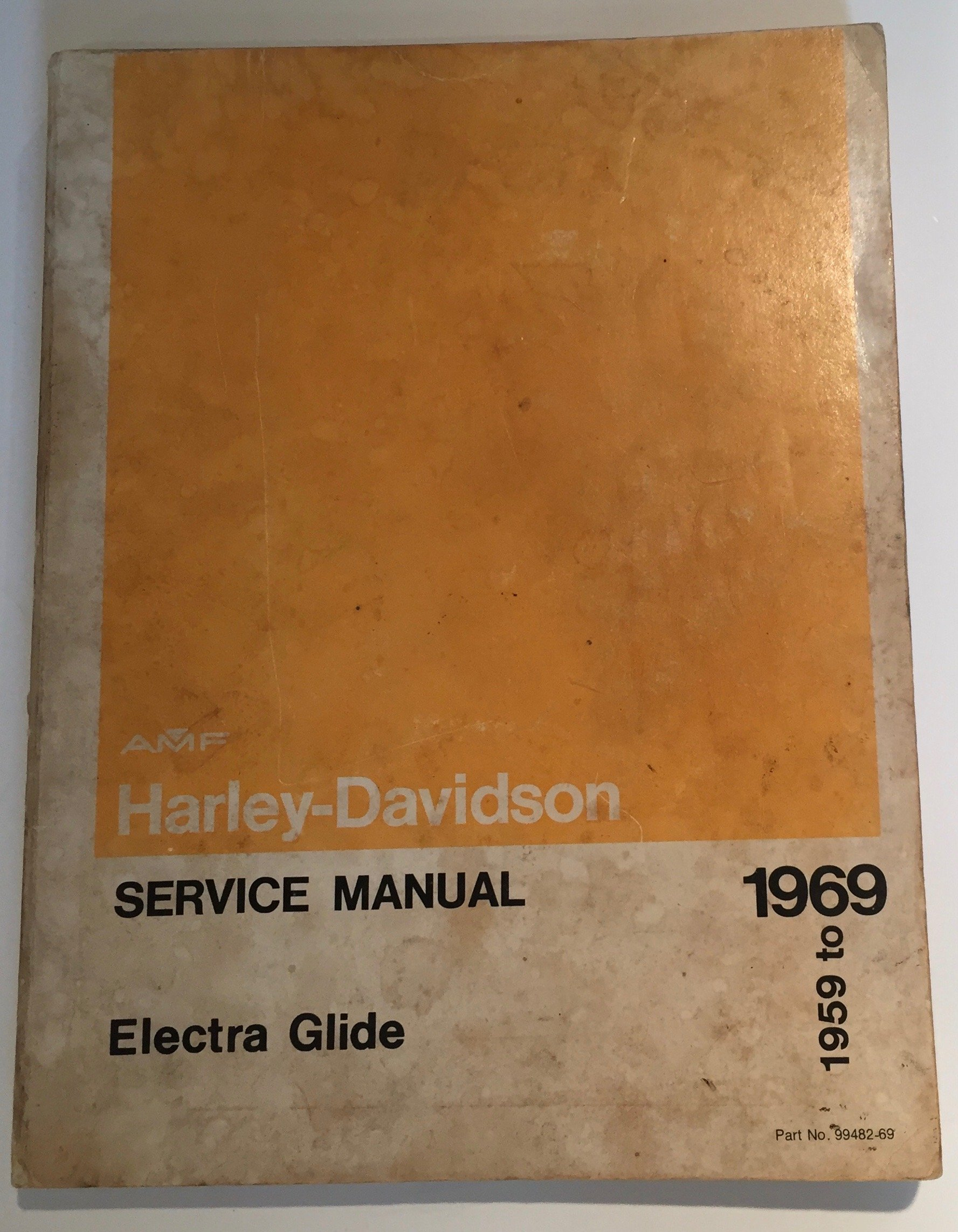 Harley Davidson Service Manual 1959 To 1969 Electra Glide Duo Glide: Harley  Davidson Motor Co.: Amazon.com: Books
