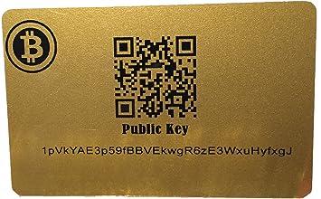 Bitcoin Wallet Cold Storage Card BTC