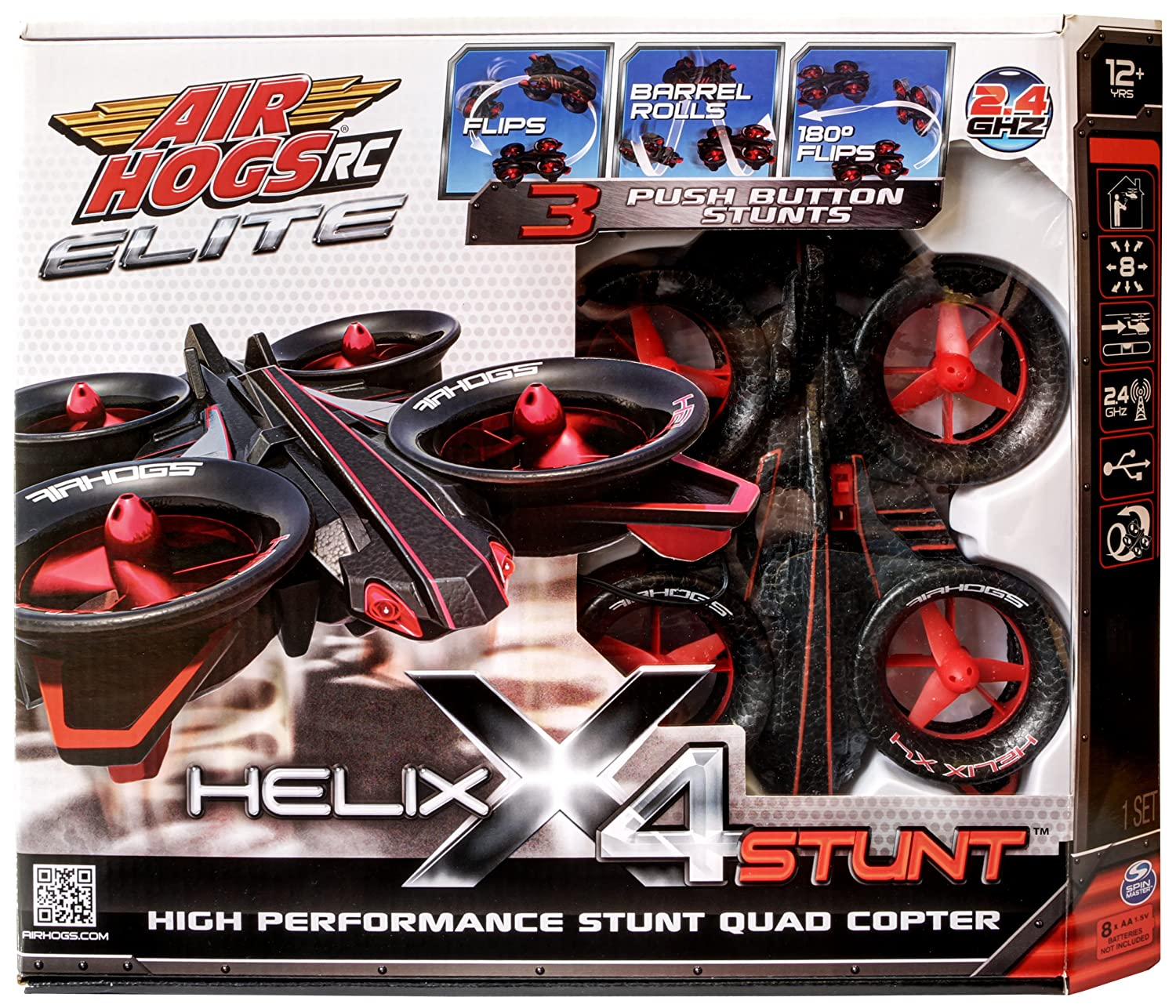 Air Hogs Helix X4 Stunt Amazoncouk Toys Games