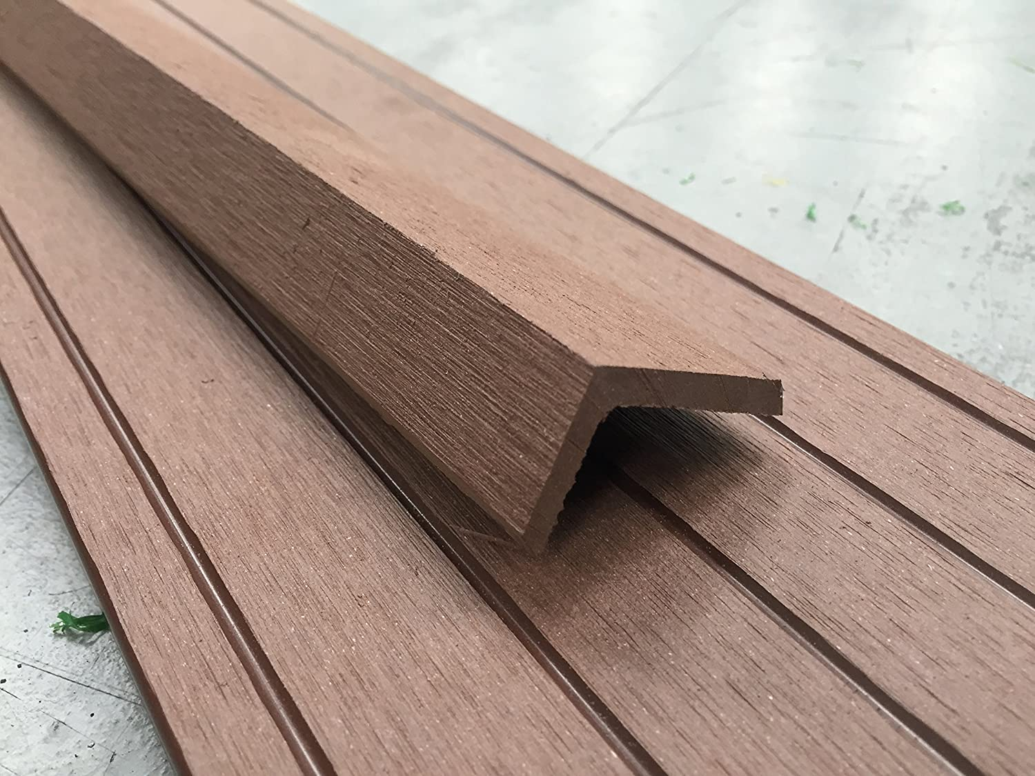 Composite Decking   Brown   21 Square Metre Pack   for Gardens & Patios