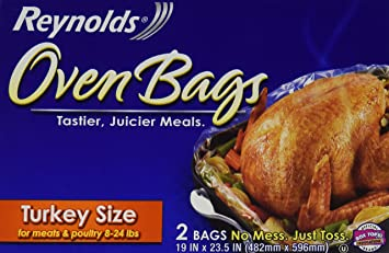 How long to cook a turkey in a reynolds oven bag