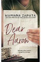 Dear Aaron Kindle Edition