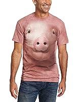 The Mountain Maglietta Pig Face Anima Adulto Unisex
