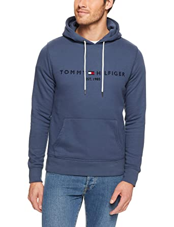 Tommy Hilfiger Men s Logo Pullover Hoodie 8e4f0d281a